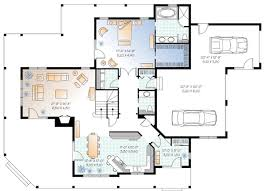 plan w21123dr two family rooms e architectural design