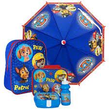 paw patrol umbrella bag lunch bag sandwich box