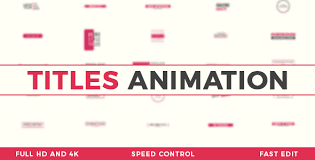 titles animation u2013 free after effects template free download
