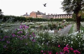 memorial garden princes william harry visit princess diana s memorial garden