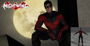 Halloween Costumes Nightwing 52 Nightwing Costume 2 Lonelygoer Deviantart