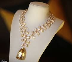 world s most expensive earrings world s most expensive necklace to go on sale for 37million