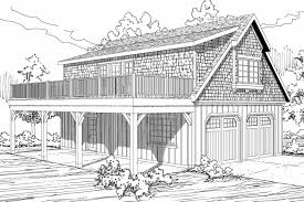 Grage Plans Shingle Style House Plans 2 Car Garage W Loft 20 061