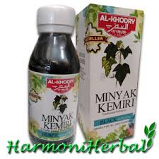 Minyak Kemiri Sei minyak kemiri al khodry suplemen untuk kulit rambut