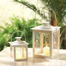 White Lantern Centerpieces by Wooden Candle Holders Outdoor Lantern Extra Large Wedding