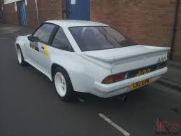 opel manta b interior opel manta 400 r fast road track car for sale