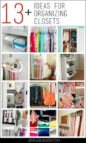 13 closet organizing ideas combat the closet clutter burger