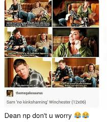 You Re A Badass Meme - dean you re a badass sheriff chickyou re not are you a romcom