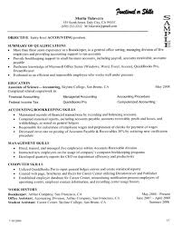 100 accounts payable and receivable resume sample free monster