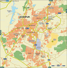 Where Is India On The Map by Map Of Jodhpur India Map In The Atlas Of The World World Atlas