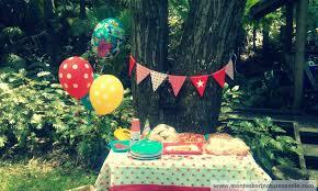first birthday party ideas montessori nature