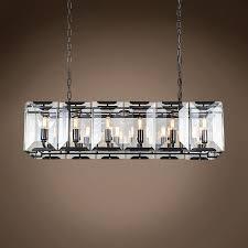 Sparkle Plenty Chandelier Cleaner Restoration Revolution Harlow Crystal Rectangular 12 Light 40
