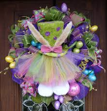 how to make easter wreaths easter mesh wreath ideas 36 in with easter mesh wreath ideas