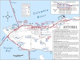 Port Of Los Angeles Map by Astoria Oregon Usa Cruise Port Of Call