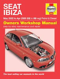seat ibiza 1 2 1 4 petrol 1 4 1 9 diesel 2002 08 02 08 reg haynes