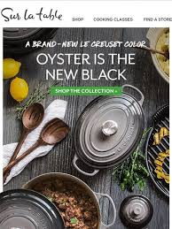 Sur La Table Coupon Code 126 Best Le Creuset Marine And Oyster Images On Pinterest