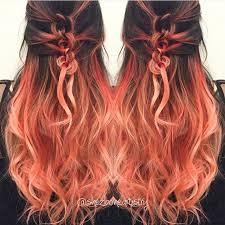 25 unique peach hair colors ideas on pinterest peachy hair