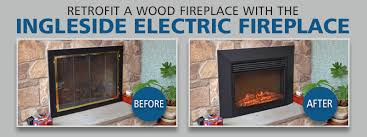Electric Insert Fireplace Touchstone Home Products Introduces An Electric Fireplace Insert