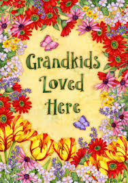 Decorative Garden Flags Custom Flags And Gifts Garden Flags For Grandparents