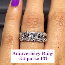 engagement ring etiquette anniversary ring etiquette engagement ring gurus