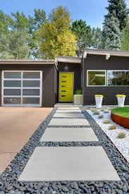 Home Landscaping Ideas by Mid Century Modern Atomic Indy Landscaping House Numbers Garden