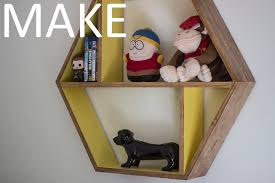 Diy Honeycomb Shelves by Easy To Make Honeycomb Floating Shelf Youtube