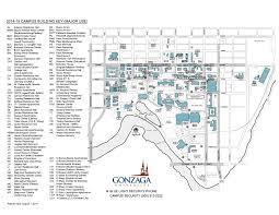 Isu Map Gonzaga University Campus Map 2014 15 By Gonzaga University Issuu