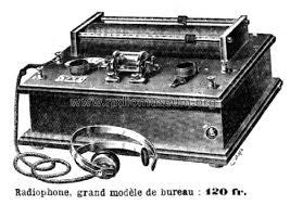 modele de bureau radiophone grand modèle de bureau chaudet a l alc