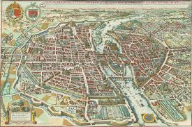 Paris France Map by Old Maps Of Paris 360 1615 Earthly Mission