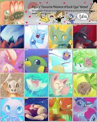 Pokemon Type Meme - pokemon type meme by saiyagina on deviantart