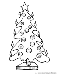 blank christmas tree coloring page session eve and easter