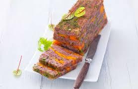 cuisiner la queue de boeuf terrine de queue de bœuf aux carottes recettes de cuisine la