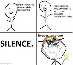Together Alone Meme - forever alone guy internet meme picture