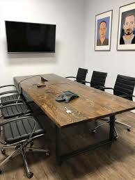 Wood Conference Table Conference Tables Stone And Cottonwood Conference Reclaimed Wood