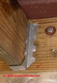 Metal Deck Bench Brackets - choosing structural bolts through bolts vs lag bolts deck