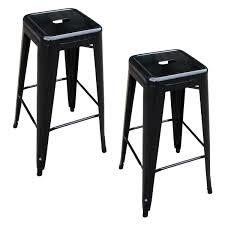 buffalo tools black metal bar stool 2 pc bs030b2pk rural king