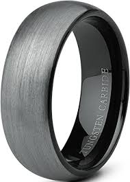 tungsten mens wedding bands tungary jewelry tungsten rings for wedding band black ring 8mm