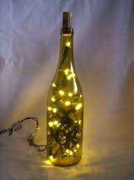 lights made out of wine bottles handmade holidays wine bottle ls crafting a green world