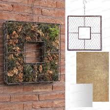 grillage a poule pour meuble cadre topiaire carré en grillage à poule 40x40cm loisirs créatifs
