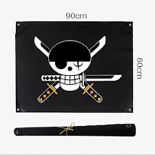 One Piece Flags One Piece Zoro Going Merry Straw Hat Luffy Logo Flag Skull Banner