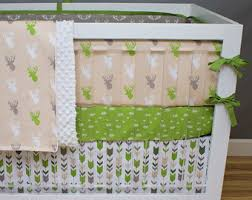 Green And Brown Crib Bedding by Tribal Crib Bedding Mint Citron Charcoal Gray Tribal Baby Boy