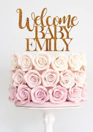 baby cake topper baby shower cake topper welcome baby cake topper baby shower