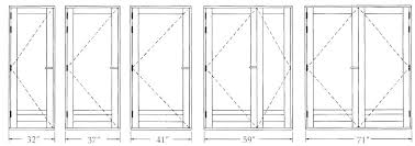 Standard Interior Door Size Interior Door Height Standard Bedroom Door Size Standard Bedroom