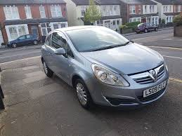 2009 vauxhall corsa 1 0 silver 3 door manual petrol mot till apr
