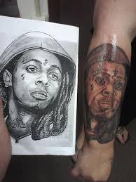 lil wayne by bad tattoos tattoonow