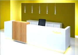 Contemporary Reception Desks Contemporary Reception Table Design Receptionist Desk Design