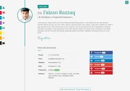 interactive resume prismcv stylish interactive resume cv template by umairrazzaq