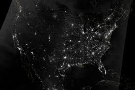 Lighting by Lighting The Paths Across The U S Image Of The Day
