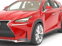 lexus sports car model lexus nx 200 turbo with 19 inch alloy wheels 3d model max obj 3ds fbx