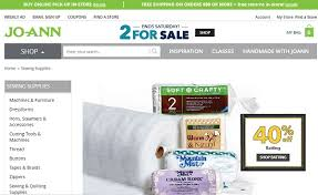 Joann Fabrics Website 12 Online Fabric Stores With Huge Perks Sew Some Stuff